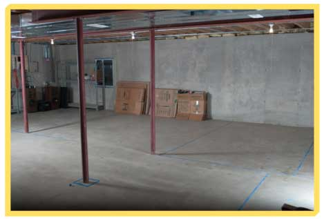 Crawl space vs slab vs basement for Slab foundation vs crawl space