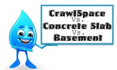 Crawl Space vs. Slab vs. Basement