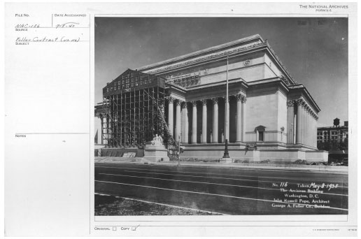 National Archives Flooding