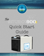 watchdog 900c crawl space dehumidifier Quick Start Guide