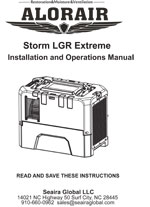 storm extreme restoration dehumidifier Manual
