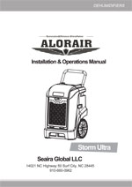 storm ultra restoration dehumidifier Manual