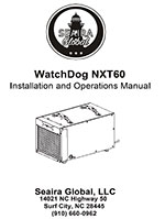 WatchDog NXT60 crawl space dehumidifier manual