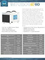 WatchDog NXT60 Dehumidifier Spec Sheet
