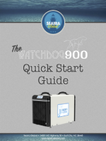 watchdog 900 crawl space dehumidifier Quick Start Guide